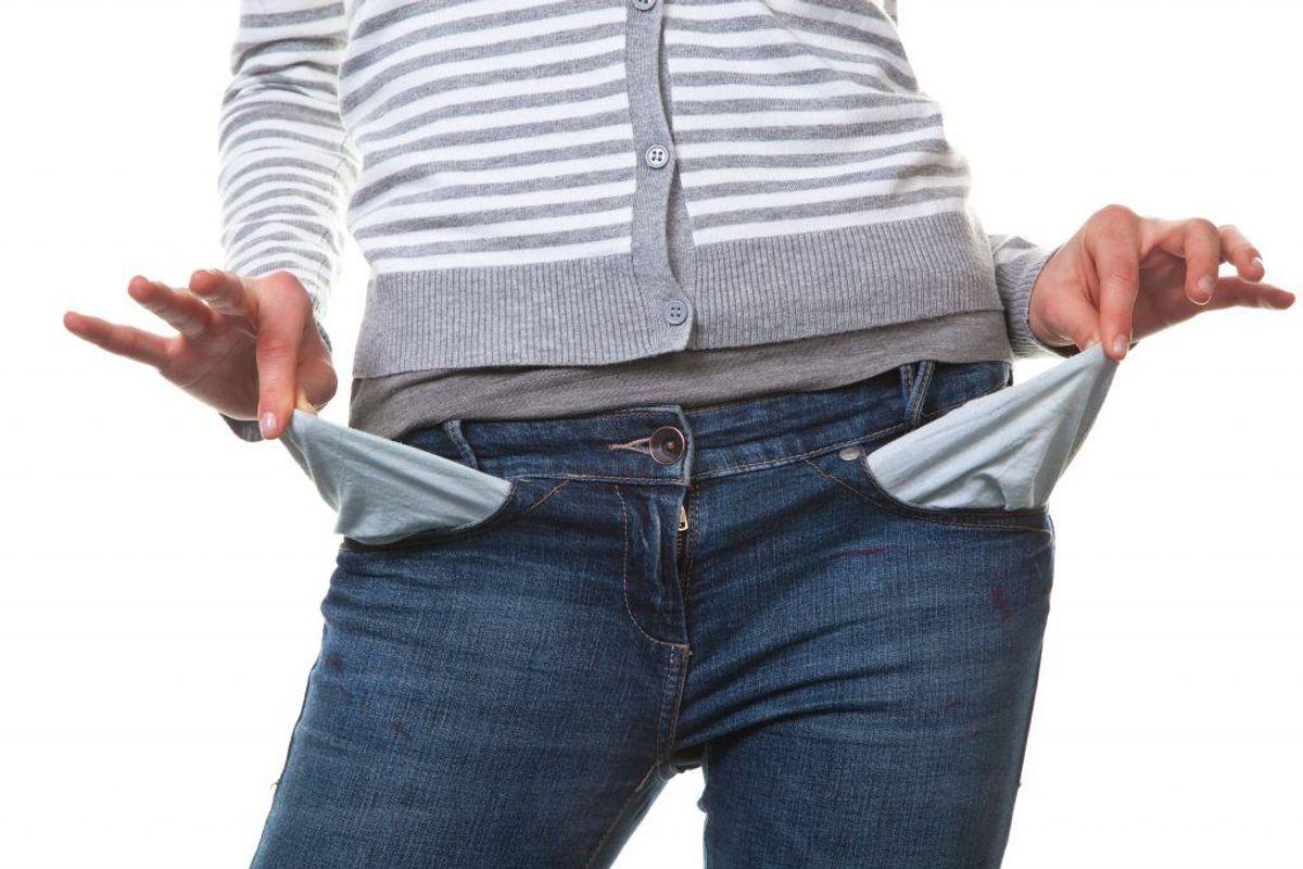 Gæld kan være svær at komme ud af. Få hjælp hos en gældsrådgivning til at lægge et budget og få et overblik over din økonomi. Kilde: Forbrugerrådet Tænk. Arkivfoto.