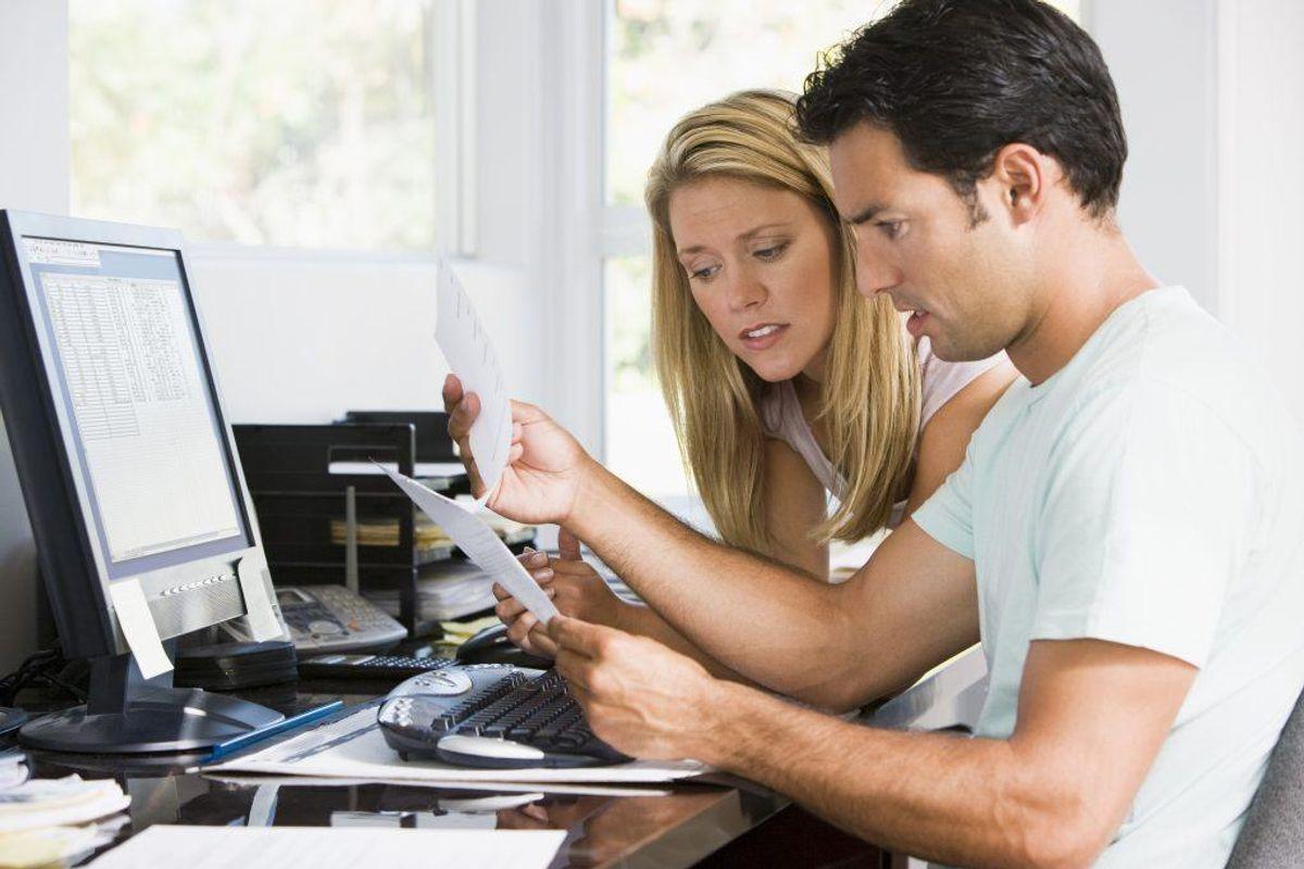 Gæld er det vigtigt at få styr på så hurtigt som muligt. Jo længere du venter, jo sværere kan det blive at få styr på gælden. Kilde: Forbrugerrådet Tænk. Arkivfoto.