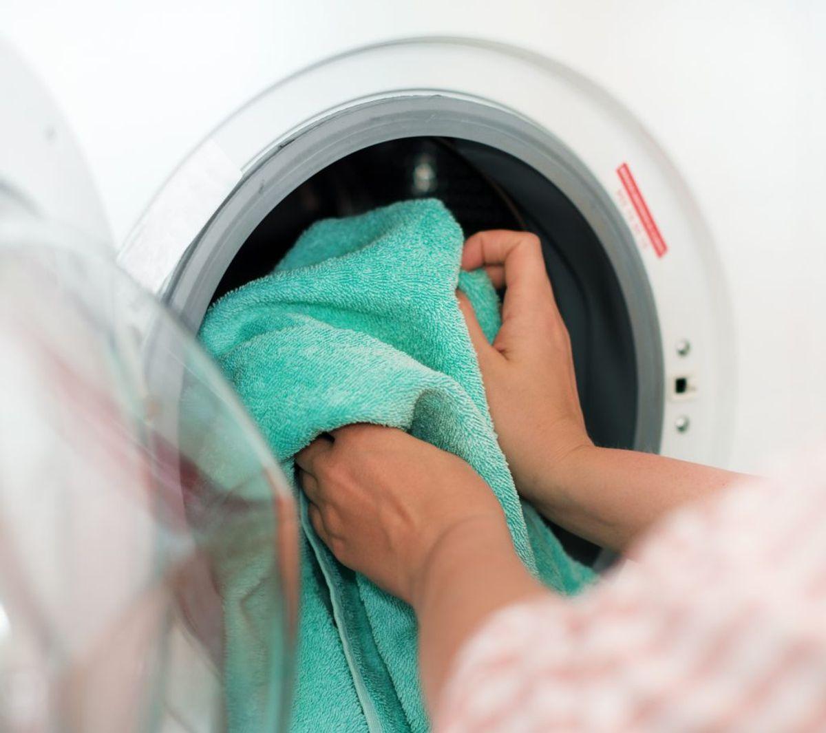 Vandudgiften til at vaske ligger på cirka 600-700 kroner om året.