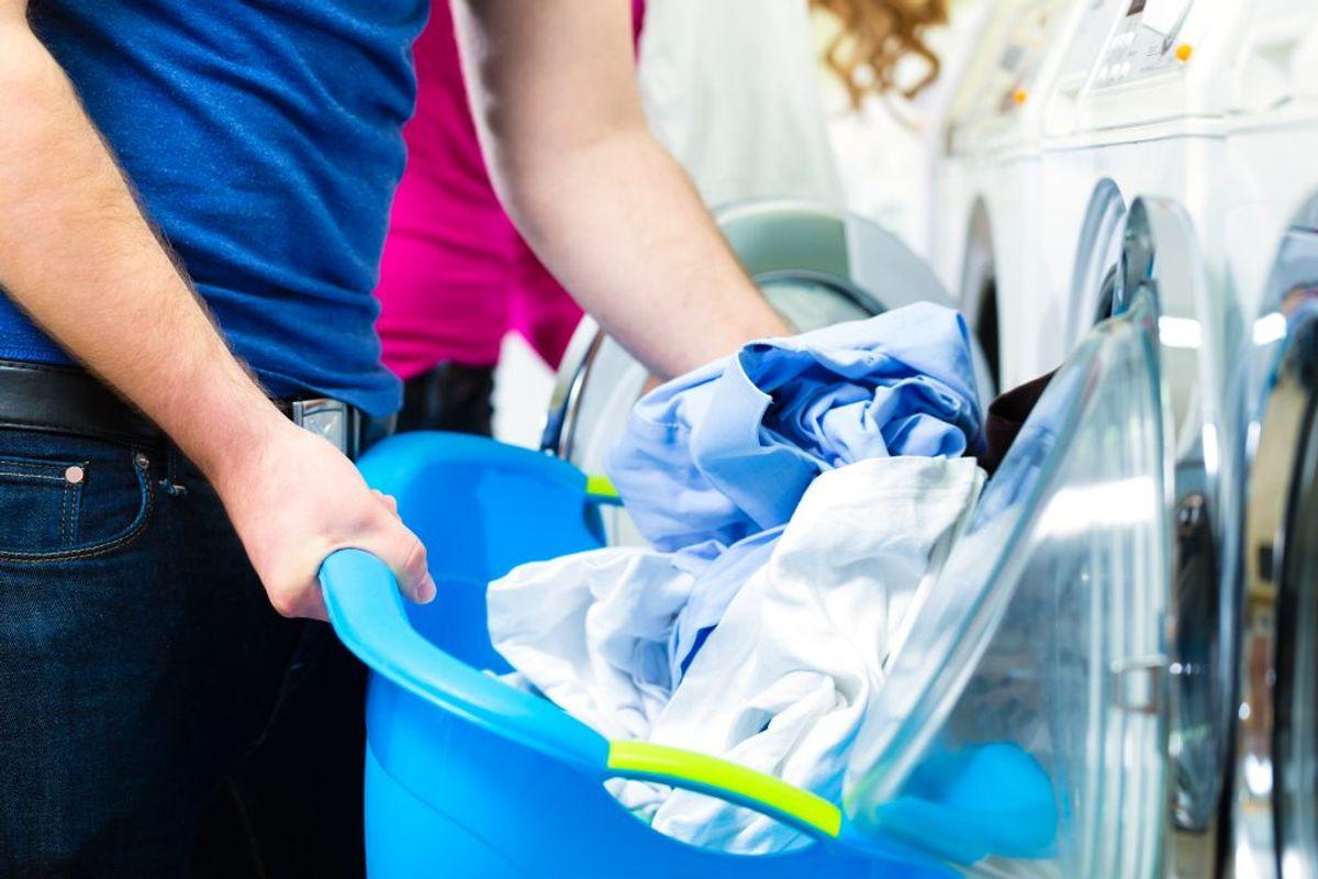 13 procent på tøjvask.