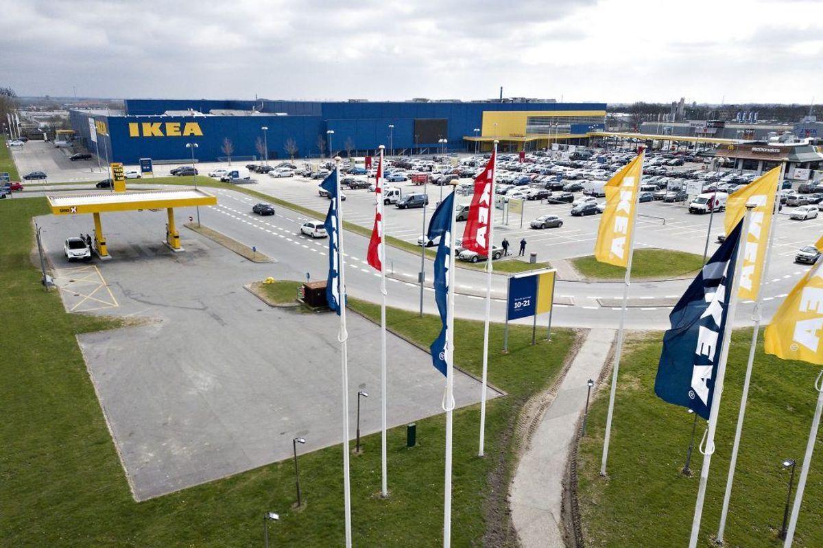 Ikea kalder en lampe tilbage. Se lampen på næste billede i galleriet. Foto: Scanpix