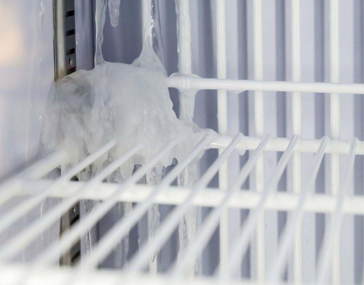 Bliv ven med din fryser, frys i små portioner og undgå uidentificerede frosne objekter.