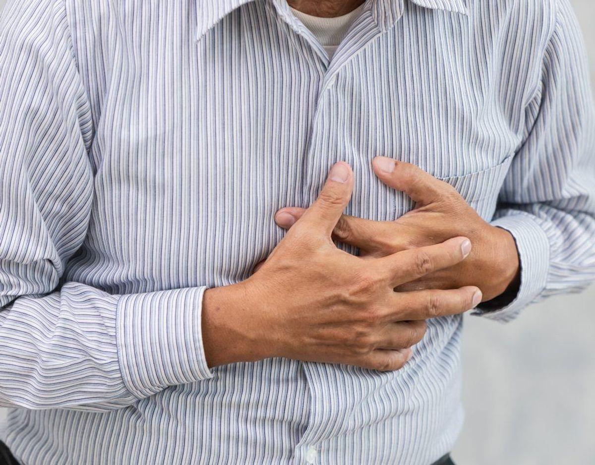Hvis du hoster og hoster og ikke ved, hvorfor, kan det være fordi, du har lungehindekræft.