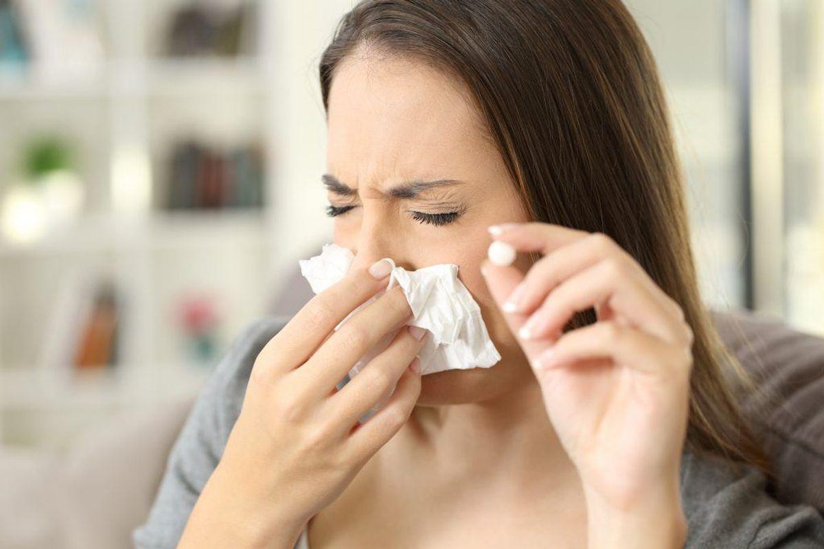 Symptomer på næse- og bihulekræft kan minde meget om symptomerne på en almindelig forkølelse. Der er dog en række andre tegn, man bør være opmærksom på. DEM KAN DU SE VED AT KLIKKE VIDERE I GALLERIET. Arkivfoto.