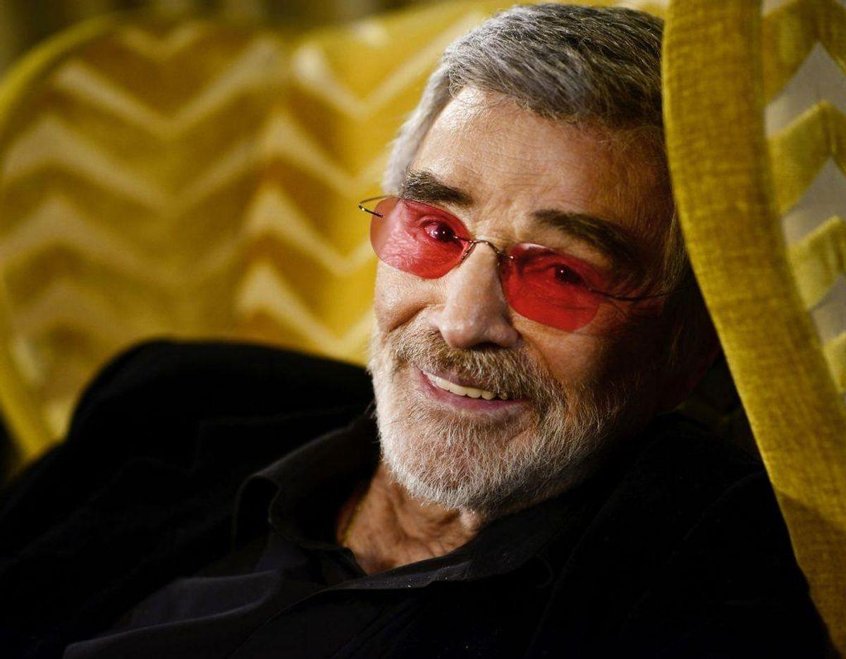 Burt Reynolds døde 82 år gammel. Foto: Camilla Rønde/Scanpix.