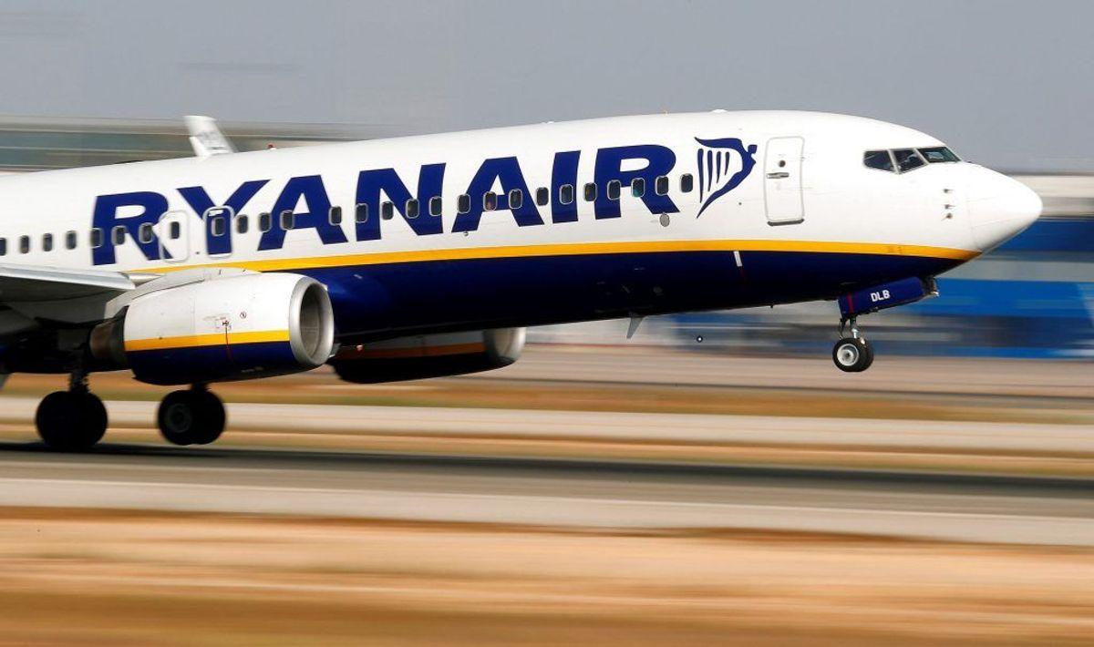 Ni ud af 11 undersøgte Ryanair-ruter var blevet langsommere over de sidste 10 år. (Foto: Scanpix)
