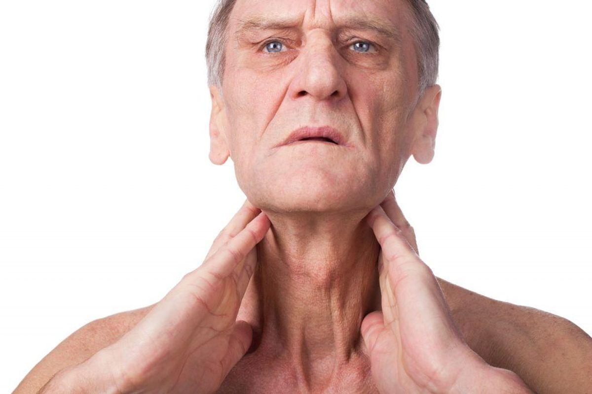 Synkebesvær er som oftest det første symptom på spiserørskræft.