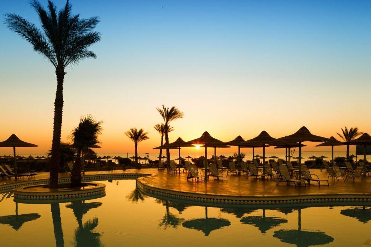 Et hotel i Hurghada bliver undersøgt efter to dødsfald og flere sygdomstilfælde. Foto: Scanpix