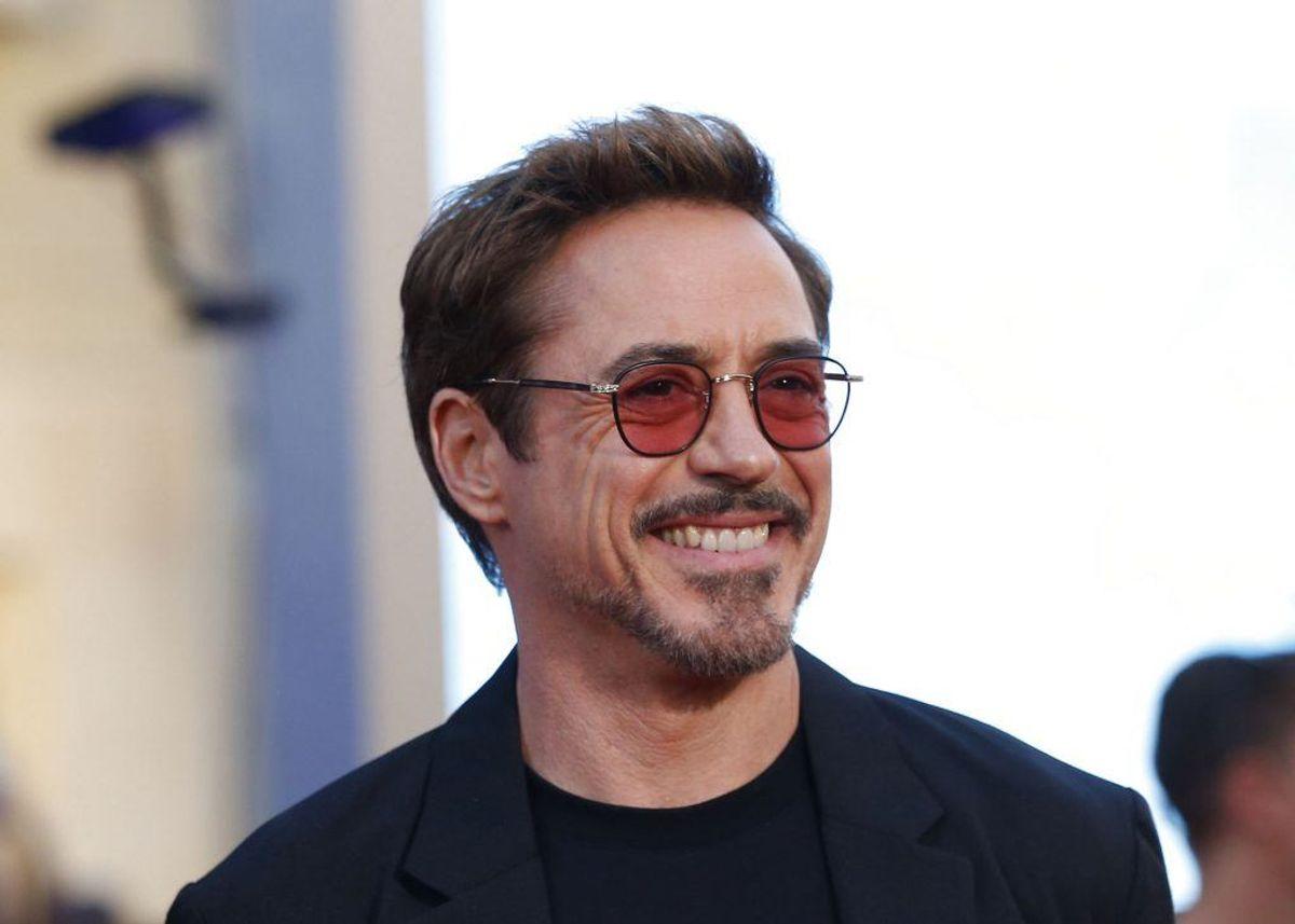 Ironman-stjernen Robert Downey Jr er i dag en respekteret verdensstjerne, men i 1996 ramte han bunden. Her blev han stoppet med heroin, kokain og en pistol i bilen. Foto: Scanpix