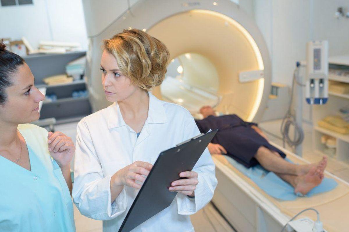 Hvis sygdommen har spredt sig, kan man få tilbudt strålebehandling. Det kan gives enten udvendig eller indvendig. Kilde: Kræftens Bekæmpelse. Arkivfoto.