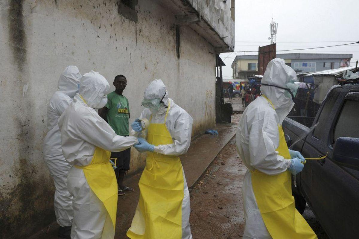 Ebola er til stadighed en af de mest frygtede sygdomme i verden. I 2018 har ramt det afrikanske land DR Congo. Omkring halvdelen af dem, der får ebola, dør. (Foto: Scanpix)