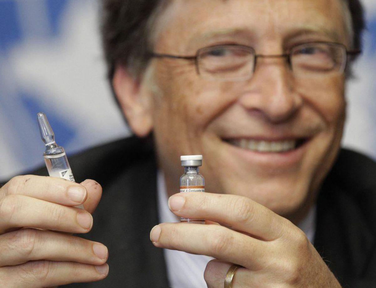 Rigmanden Bill Gates har engageret sig i kampen mod meningitis, men sygdommen dræber stadig danskere næsten hvert år. (Foto: Scanpix)