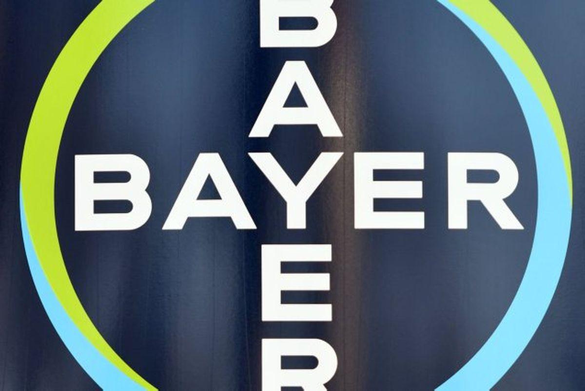 Den tyske kemigigant Bayer står via datterselskabet Monsanto til at skulle betale en milliarderstatning til en kræftsyg amerikansk mand. Foto: Patrik Stollarz/AFP