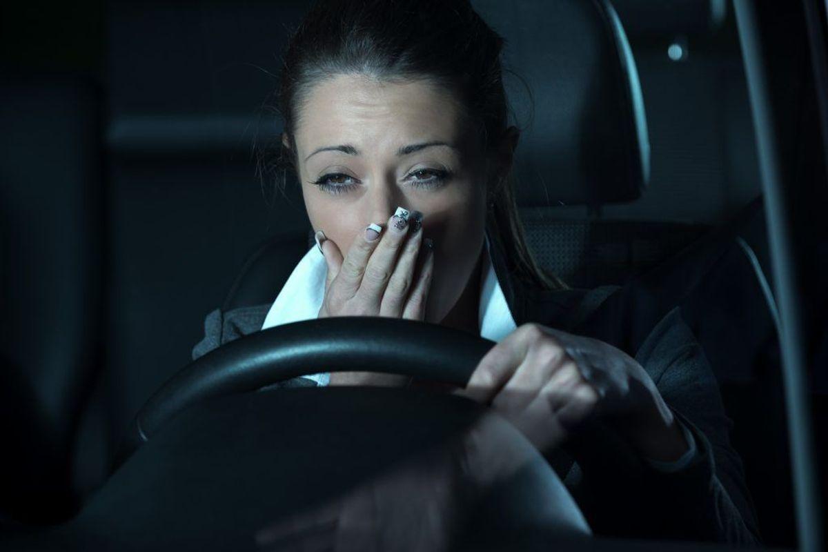 Forskere kunne allerede efter et kvarters kørsel måle en stigende træthed. (Foto: Shutterstock)
