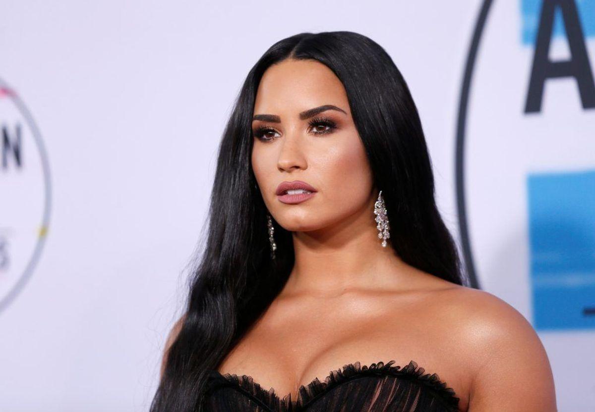 Demi Lovato har tidligere været åben om sit narkomisbrug. Foto: Scanpix