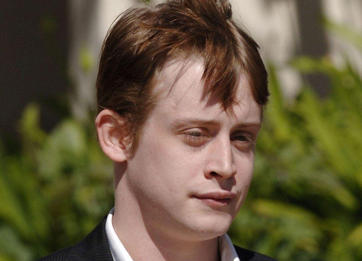 Mange rygter har gennem årene svirret om barnestjernen Macaulay Culkin. Fakta er, at han er blevet taget med hash på sig. Foto: Scanpix