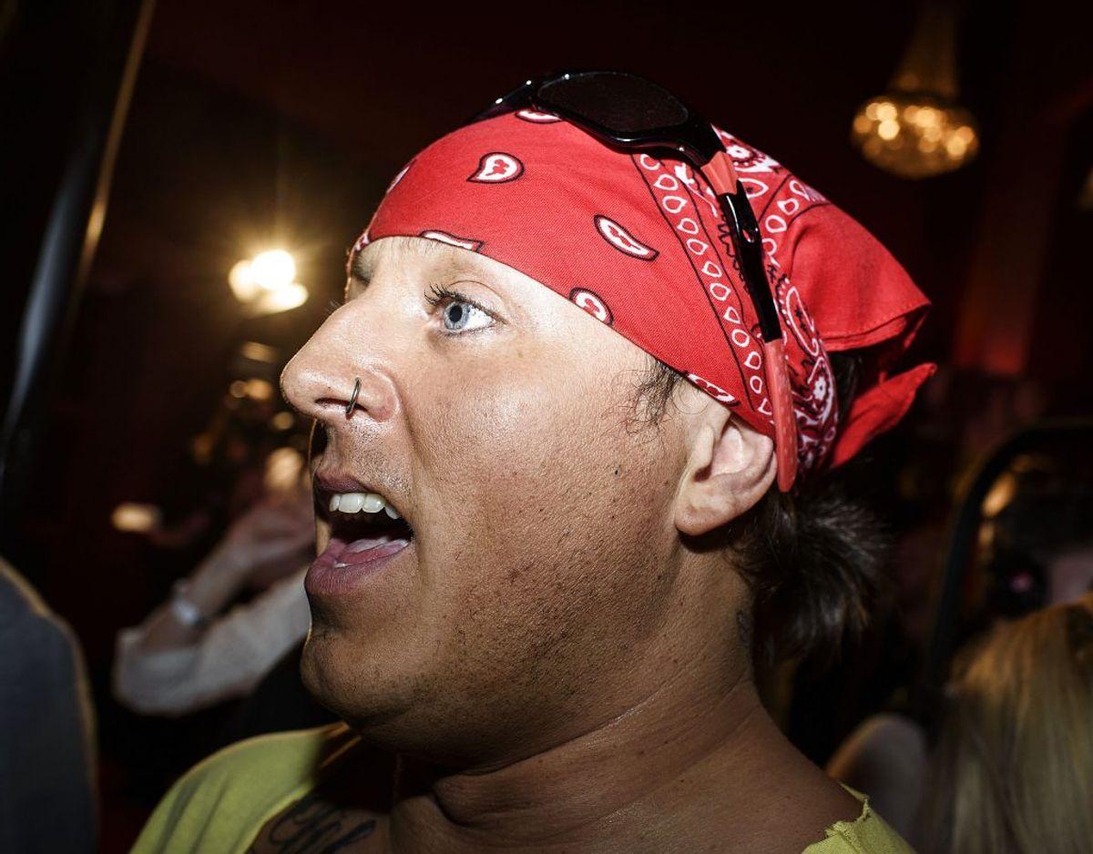 Reality-stjernen Sidney Lee har til BT fortalt, at han i sine unge år tog både kokain, speed og ecstasy. Foto: Scanpix.