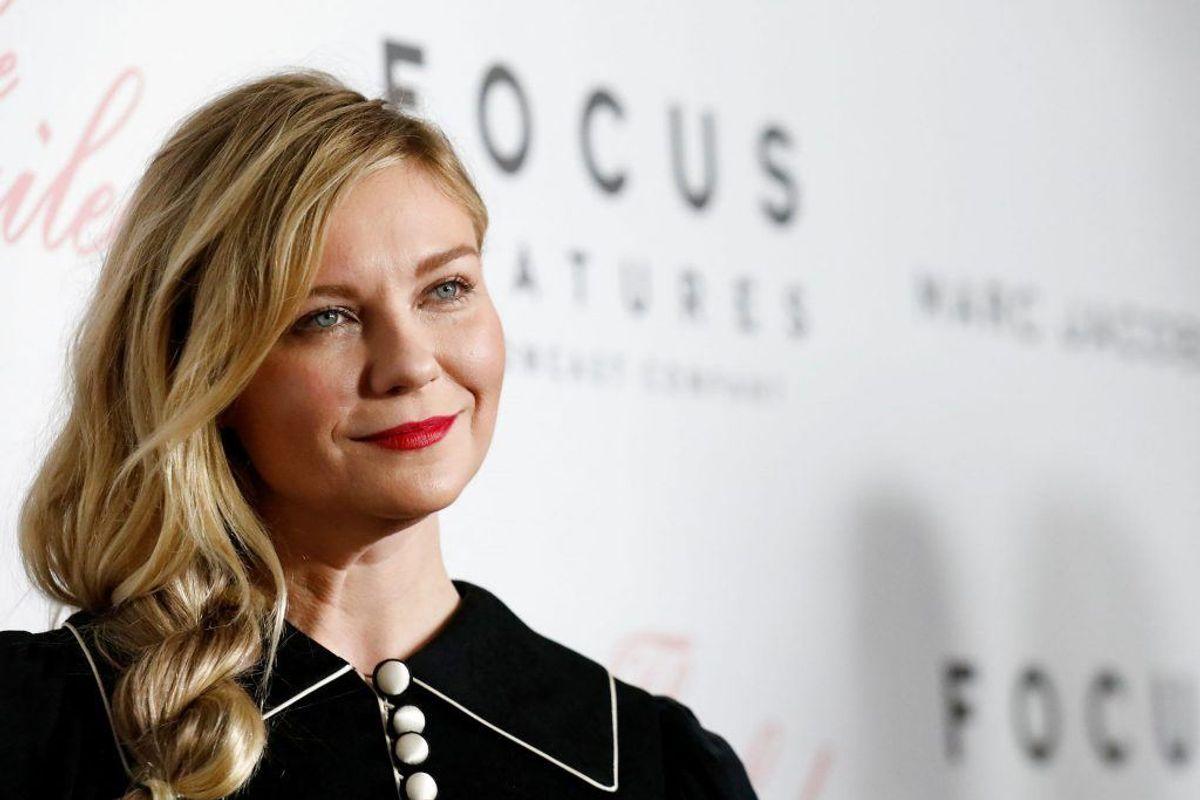 Skuespilleren Kirsten Dunst tjekkede i 2008 ind på en afvænningsklinik, efter en længere periode med alkohol- og stofmisbrug. Foto: Scanpix