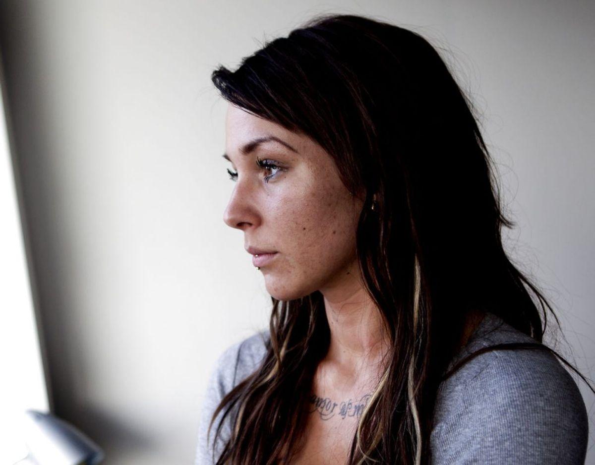 Malou Stella fra De unge Mødre har i et interview med BT fortalt, at hun har som ung tog kokain, og at det gjorde hende glad, mens amfetamin mest af alt gjorde, at hun ikke kunne sove. Foto: Scanpix.