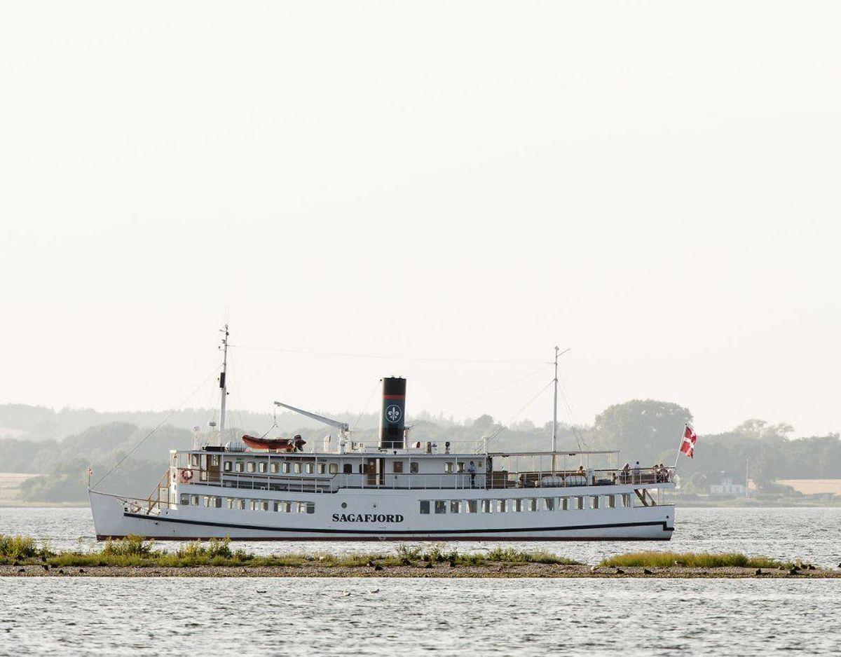 Turbåden bruges til arrangementer og fester. (Foto: Jens Astrup/Ritzau Scanpix)