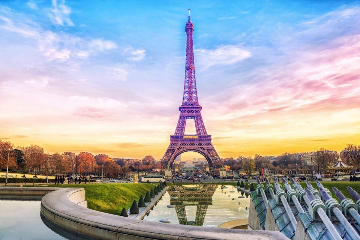 Frankrig ligger også i den høje ende. Her koster en liter 95 11,53 kroner og en liter diesel 10,92 kroner. (Foto: Iris)