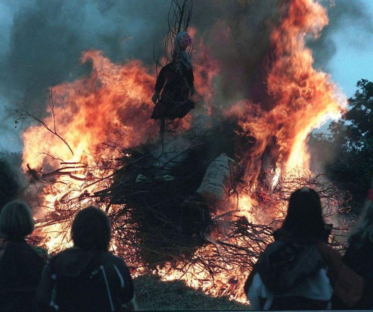 I Jylland er der afbrændingsforbud i Aarhus,Norddjurs,Odder,Rømø, Samsø,Skanderborg,Syddjurs. Foto: Scanpix
