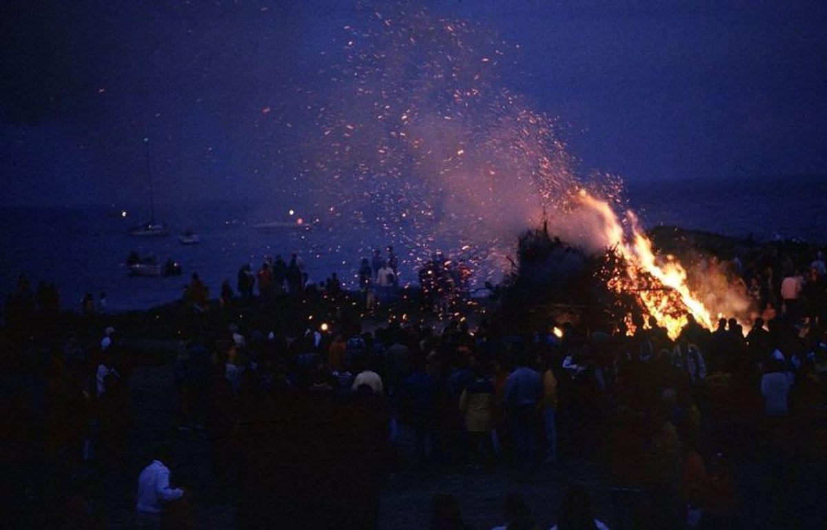 På Fyn og de tilhørende øer er der afbrændingsforbud i følgende kommuner: Assens,Faaborg-Midtfyn,Kerteminde,Langeland,Nordfyn,Nyborg,Odense,Svendborg og Ærø. Foto: Bjørn Kähler/Ritzau Scanpix