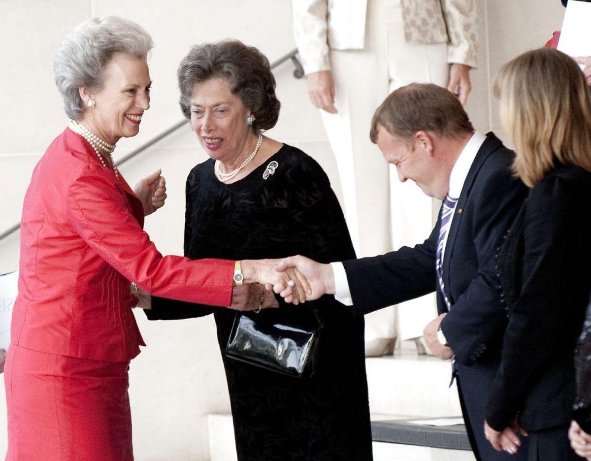 Prinsesse Elisabeth (i midten) er død. 83 år gammel. Se en række billeder her i galleriet. Arkivfoto: Scanpix