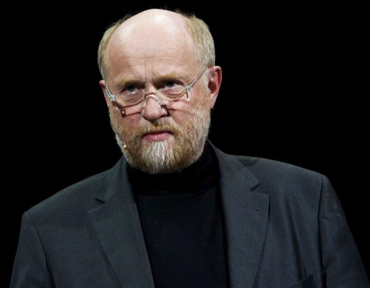 Frode Munksgaard holder sig igang med blandt andet foredrag. Foto: Scanpix.