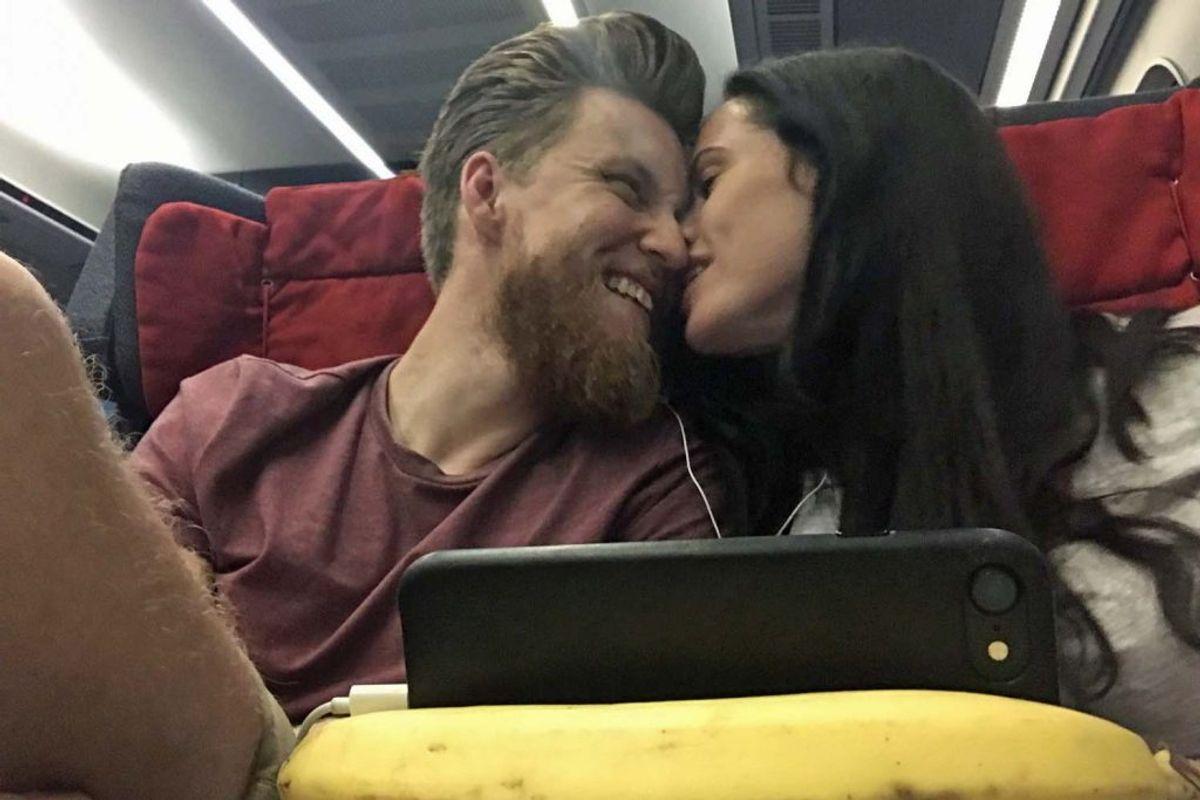 Jesper Søvndal er blevet kæreste med bloggeren Johanne Mygind. Privatfoto.