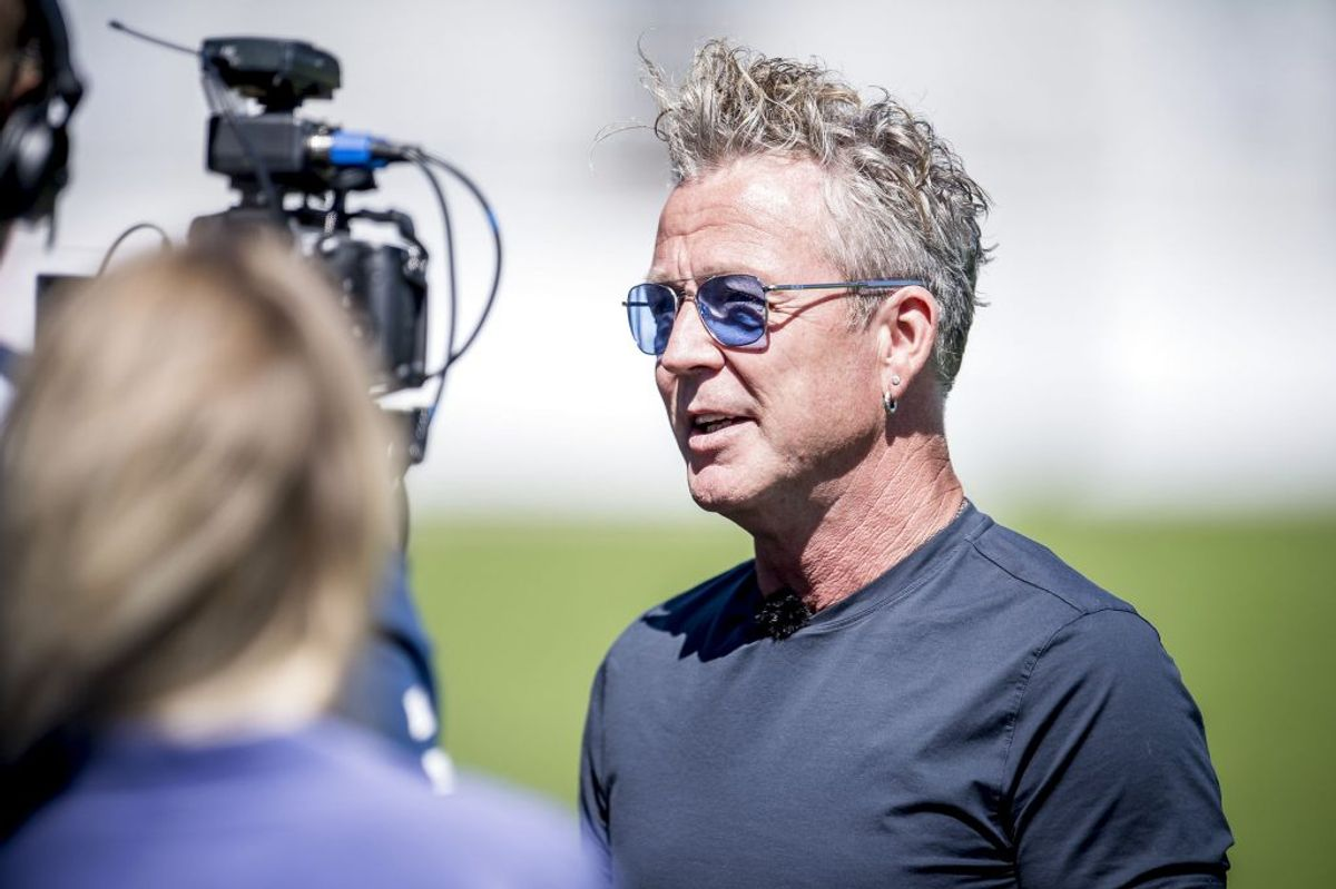 Thomas Helmigs VM-sang vækker ikke begejstring på landsholdets Facebook-side. Foto: Mads Claus Rasmussen/Scanpix
