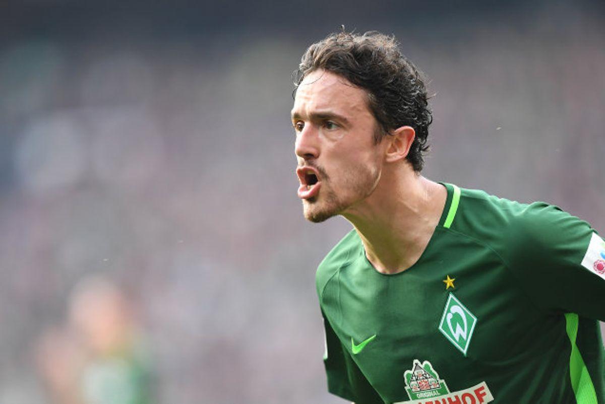 Thomas Delaney nåede halvandet år i Werder Bremen før skiftet til Borussia Dortmund. Foto: Carmen Jaspersen/AFP