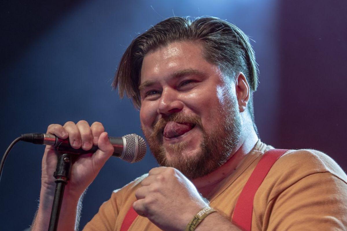 Rasmus Bjerg beskriver det som helt unikt, hvor stor en del af John Mogensens sange, folk stadig kender og kan synge med på i dag, over 40 år efter de kom frem. Foto: René Lind Gammelmark