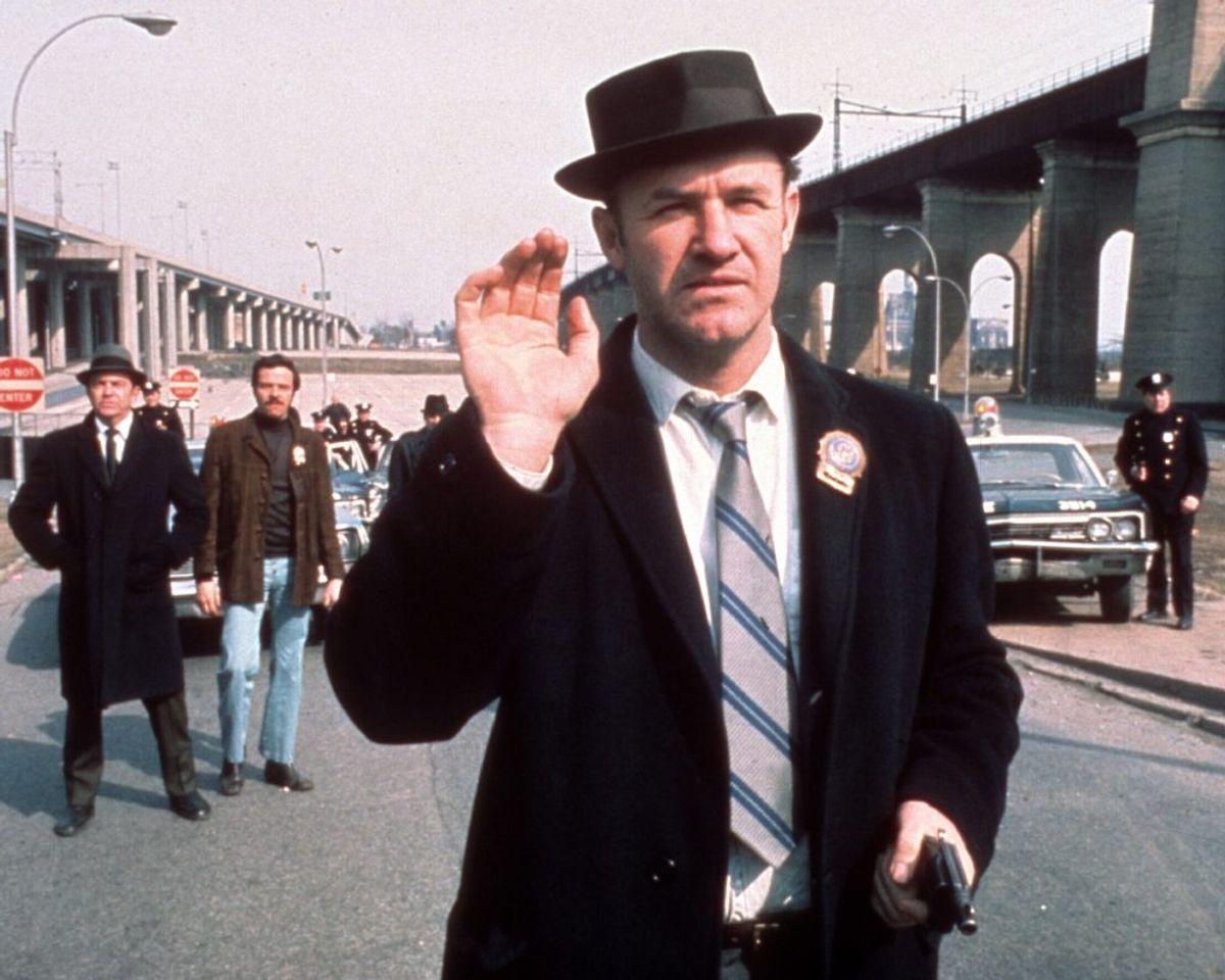 Skuespilleren Gene Hackman fik en kold tyrker i filmen The French Connection fra 1971. Senere fik han også en Oscar-statuette. Arkivfoto: Wikipedia