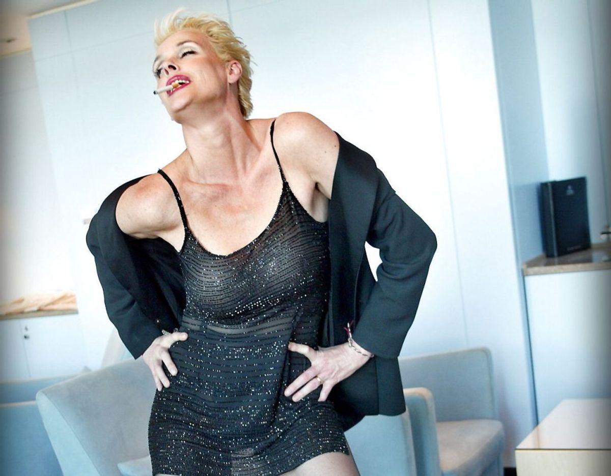 Brigitte Nielsen er gravid – den tidligere fotomodel venter sit femte barn. Arkivfoto: Scanpix