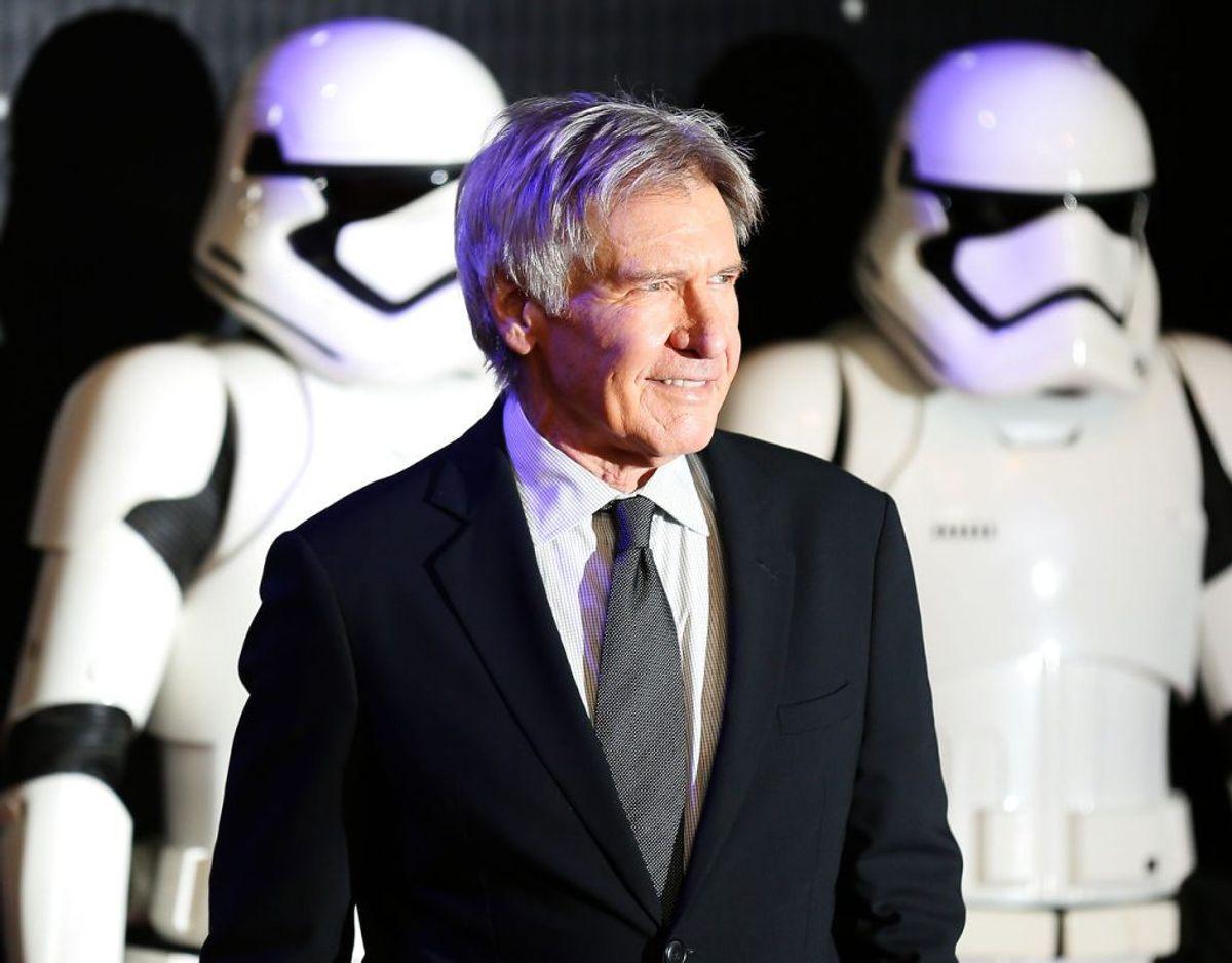 Harrison Ford fik sit helt store gennembrud i de første Star Wars-film – og fulgte siden op i Indiana Jones-succeserne. Arkivfoto: Paul Hackett/Scanpix