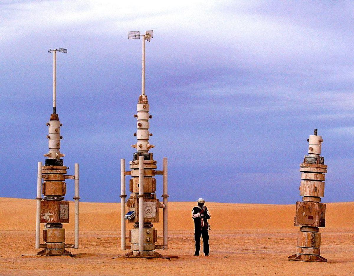 Star Wars-kulisse i den Tunesiske ørken. Arkivfoto: Scanpix