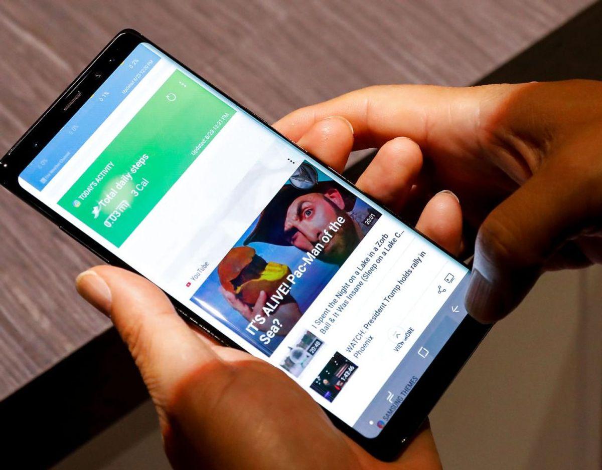 Samsung Galaxy Note 8 døde på samme tidspunkt i testen og får derfor også 4,3. Én telefon var dog absolut endnu ringere.