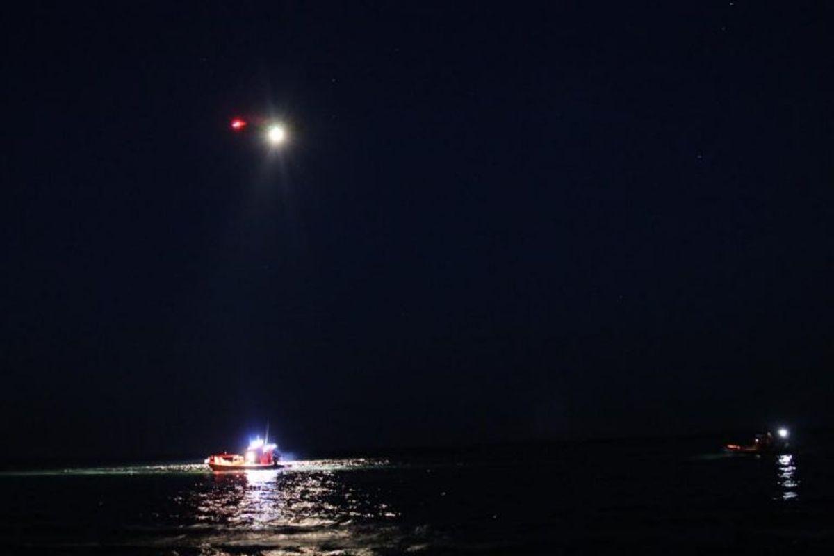 Der er også søgt med helikopter – uden held. Foto: presse-fotos.dk