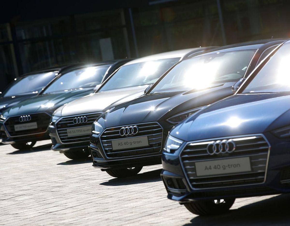 NUMMER 4: Audi er et populært bilmærke i Danmark, og mærkert har de fjrerdemest tilfredse kunder. Foto: Michael Dalder/Scanpix