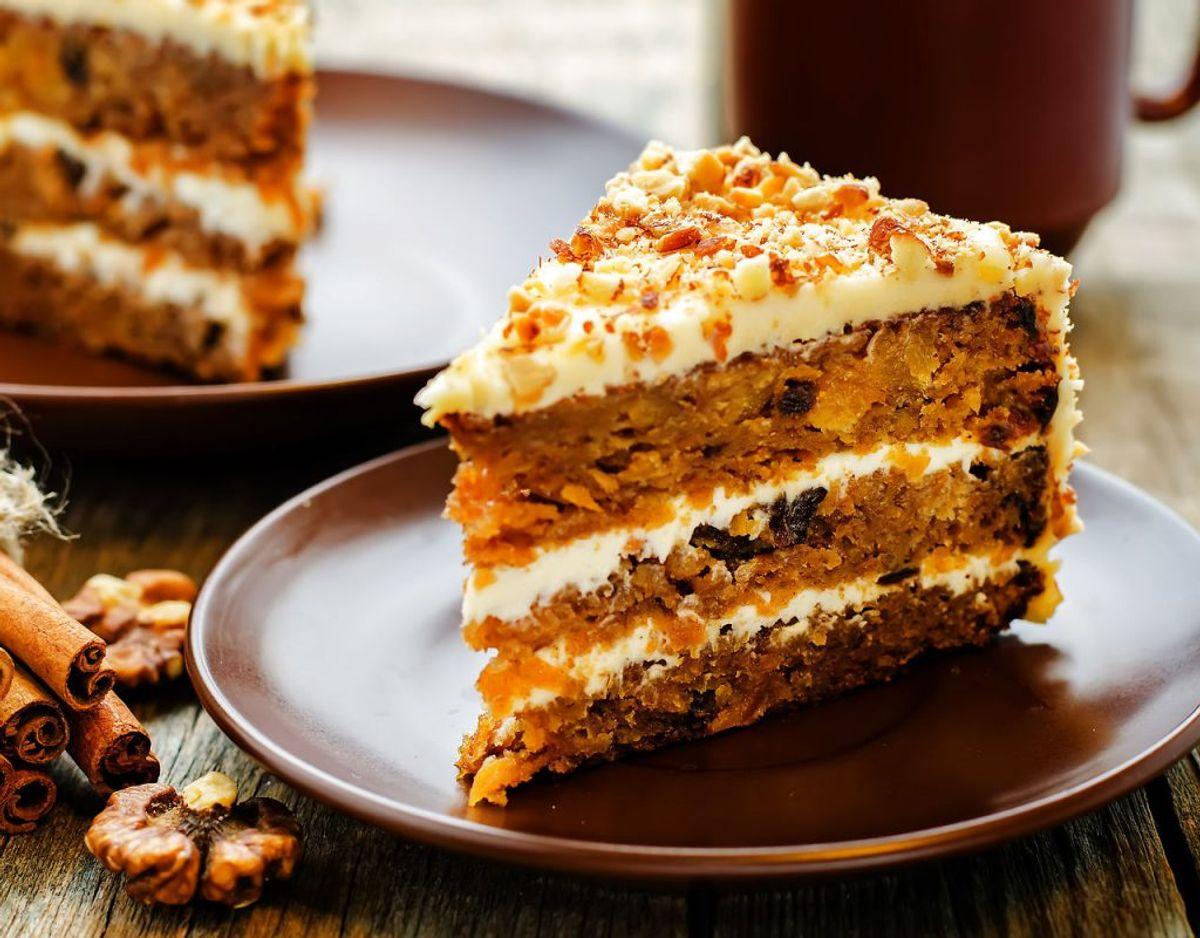 Kage skal ikke i køleskabet – dog er der den undtagelse, hvis der er fløde eller mælk i. Opbevar kage i en lufttæt bøtte. Foto: Scanpix