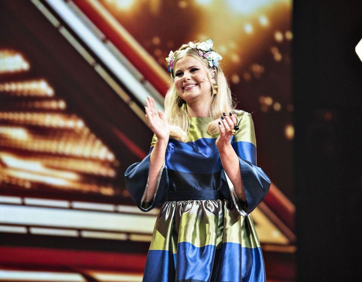 Sofie Linde har sagt farvel til DR, men ikke til X Factor. Arkivfoto: Scanpix