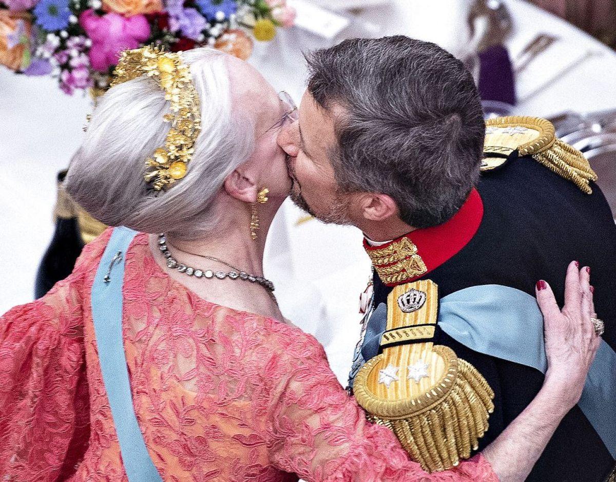 Hvem skal tage over, når dronning Margrethe dør? KLIK PÅ BILLEDET OG SE ARVERÆKKEFØLGEN TIL DEN DANSKE TRONE. Foto: Henning Bagger/Ritzau Scanpix.