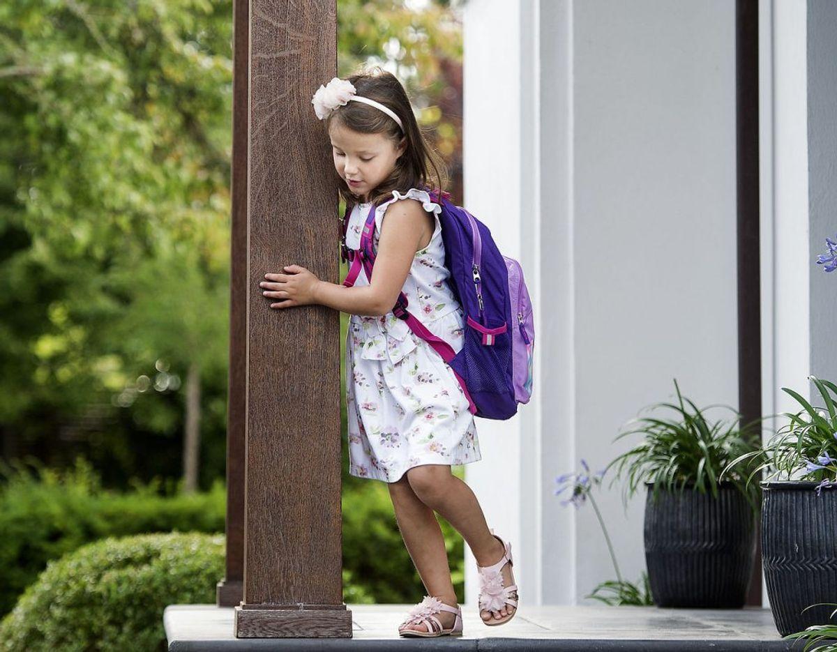 Nummer 10: Som det yngste barn af prins Joachim og prinsesse Marie er prinsesse Athena præcis nummer 10 i arverækkefølgen til den danske trone. Arkivfoto: Liselotte Sabroe/Scanpix