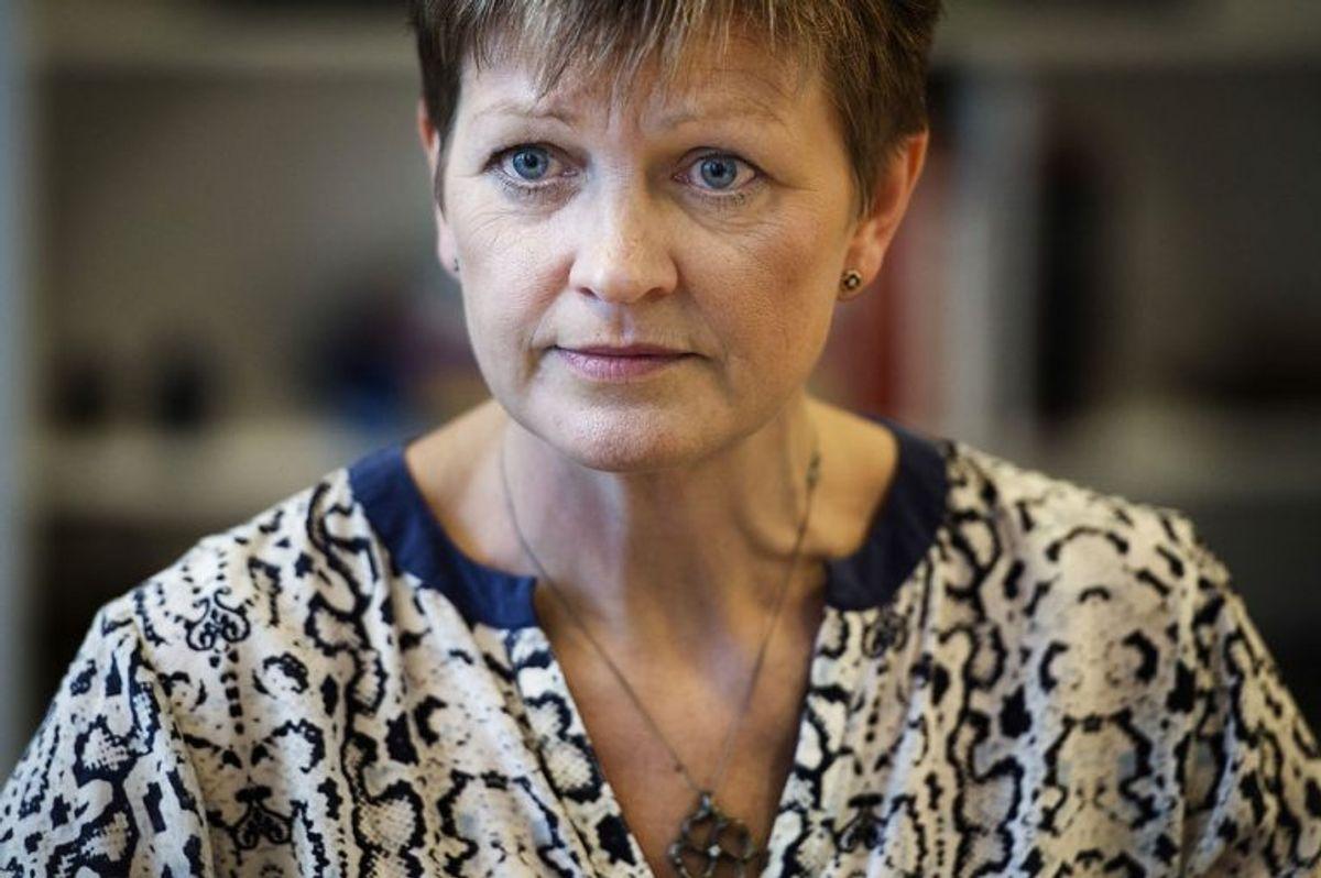 Eva Kjer Hansen udnævnes til minister for fiskeri og ligestilling. (Foto: Liselotte Sabroe/Scanpix 2017)