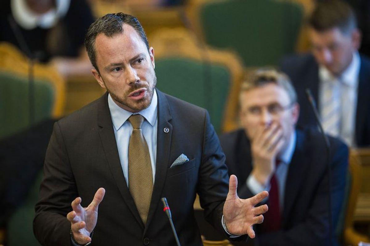 Jakob Ellemann-Jensen udnævnes til miljø- og fødevareminister. (Foto: Ólafur Steinar Gestsson/Scanpix 2017)