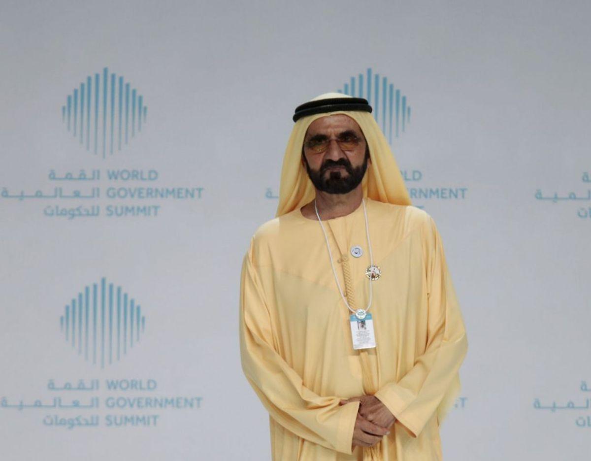 Sheikh Mohammed bin Rashid al-Maktoum er overhovedet i Dubai og har omkring 30 børn. Arkivfoto: Scanpix