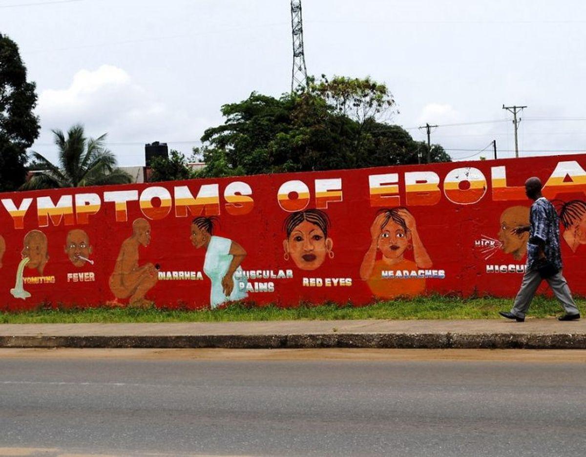 Ebola. Den ekstremt dødelige virus var ved sit seneste store udbrud fra 2014 til 2016 skyld i tusindvis af dødsfald i Vestafrika. Foto: Scanpix