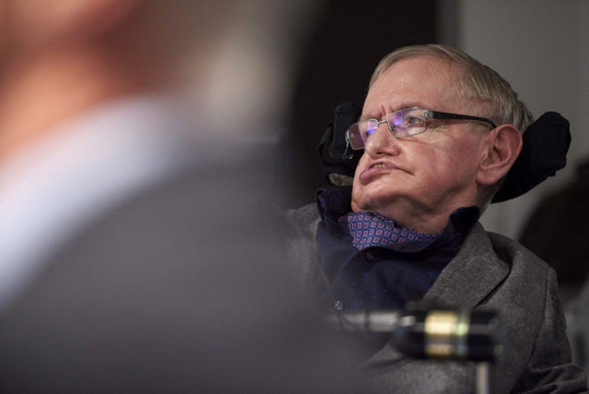 """Universets mystiske sorte huller var i mange år Stephen Hawkings kernekompetence. Foto: Niklas Halle""""n/arkiv/AFP"""
