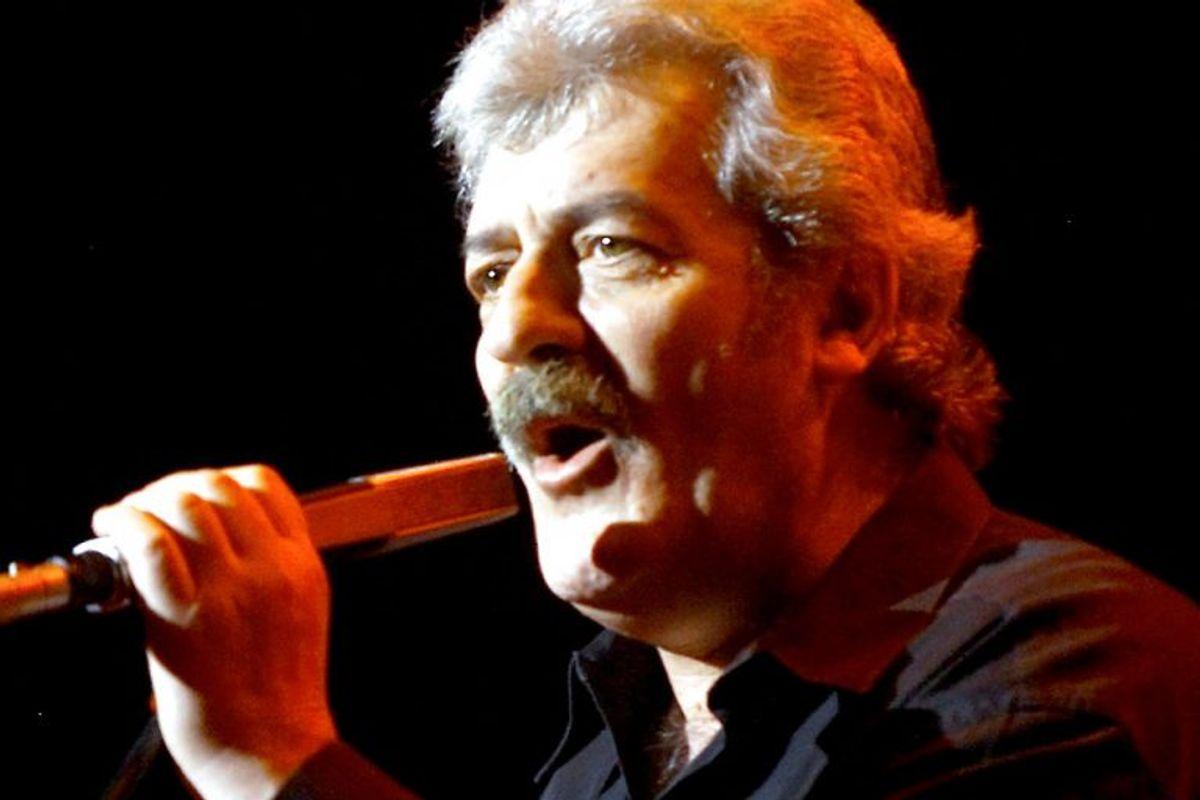 """Ray Thomas kæmpede mod prostatakræft. Han var med til at grundlægge det legendariske britiske band """"The Moody Blues"""". Arkivfoto: Ethan Miller/Scanpix"""